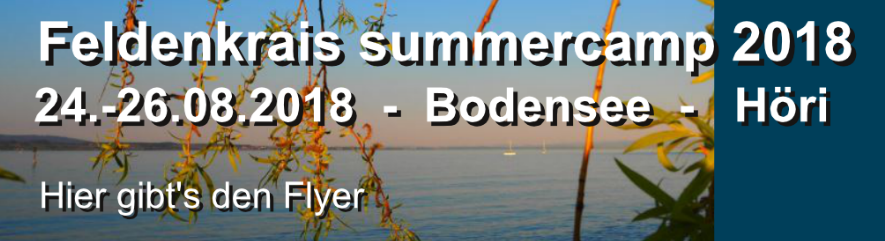 Feldenkrais summercamp 2018